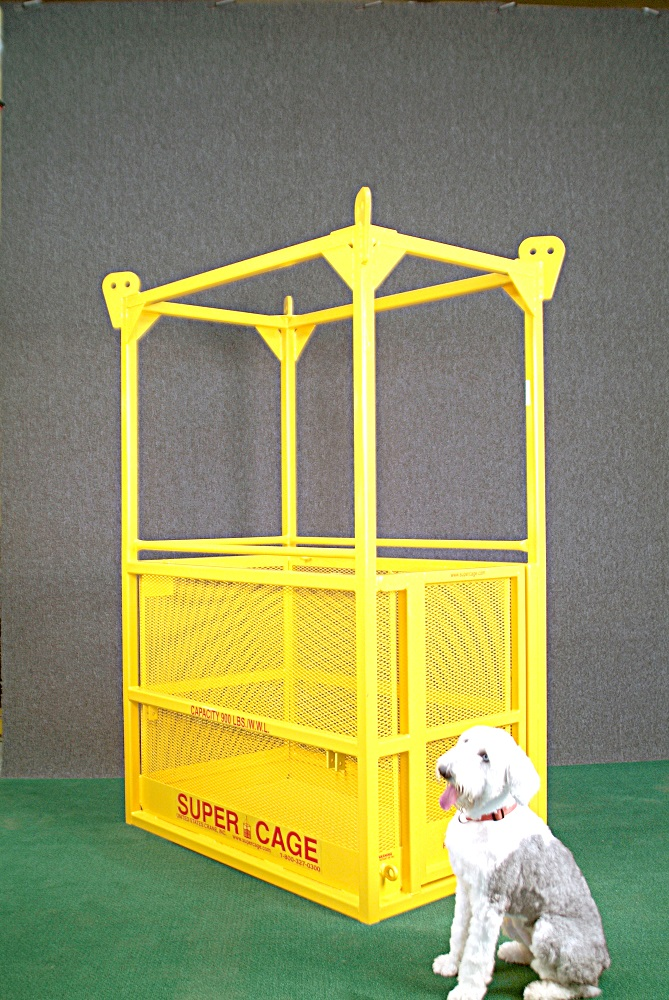 SuperCage with Super Dog